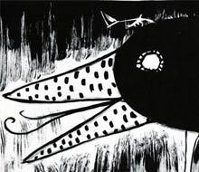 Máscara de pájaro