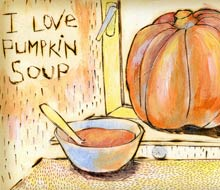 I love pumpkin soup