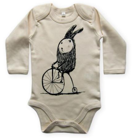 Rabbit on a bike